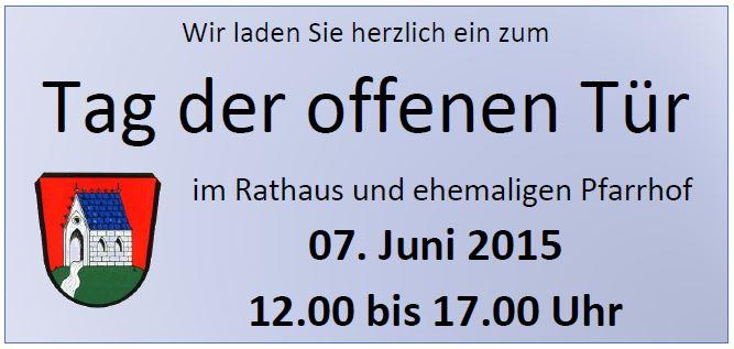 Rathaus - Tag der offenen Tür