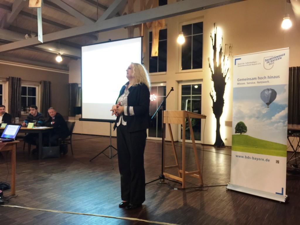 Rita Hörmann, Hörmann Solartechnik, schildert ihre Erfahrungen